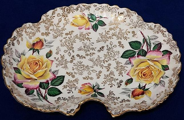 Półmisek porcelanowy Staffordshire