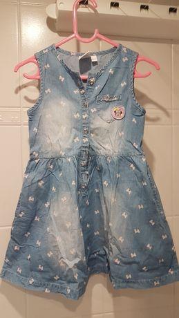Sukienka bawełniana Myszka Minnie Cool Club 104