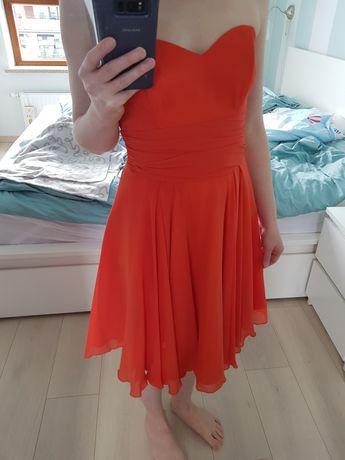Carina sukienka wizytowa rzom 34 jak nowa