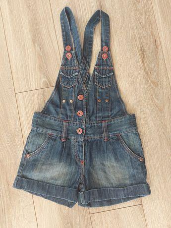 Ogrodniczki 122 miękki jeans