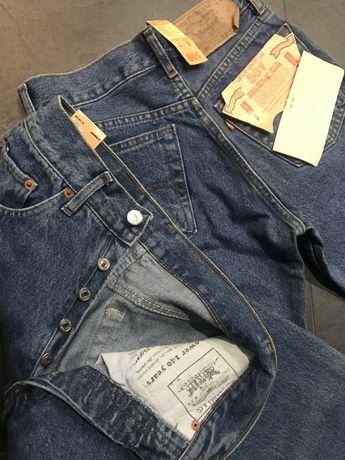 Spodnie Levis 501 29/32 jeansy niebieskie unisex nowe zara diesel