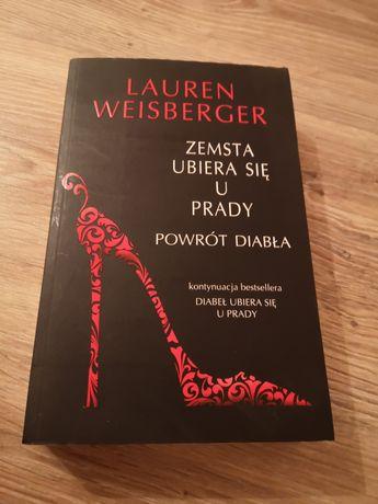 Książka Zemsta ubiera się u Prady zemsta diabła Lauren Weisberger