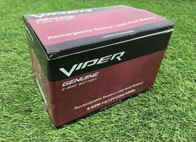 Распродажа! Аккумулятор Viper 6-DZM-12 тяга 12Ач 2020 года