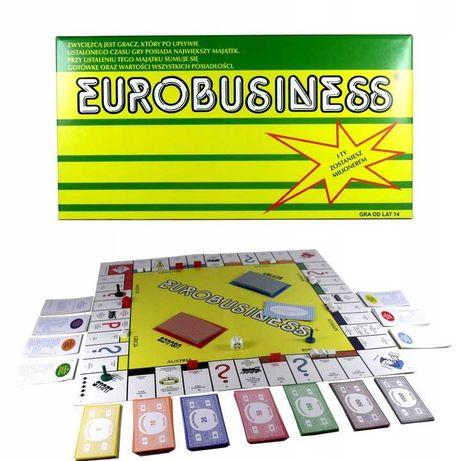 NOWA GRA Eurobiznes Eurobusiness Eurobisnes planszowa rodzinna