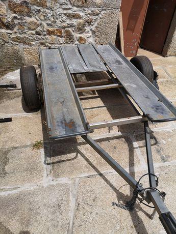 Atrelado para karting ou moto 4 ou buggy