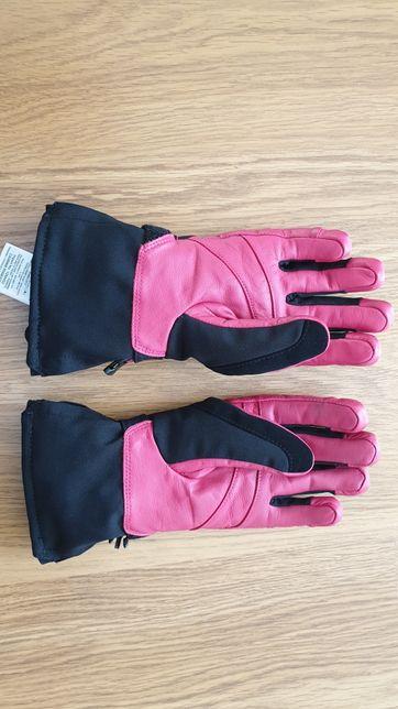 Rękawiczki damskie różowe Salomon rozmiar M