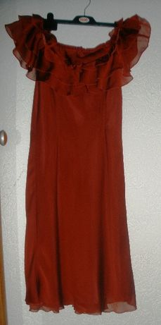 Oryginalna hiszpańska sukienka czerwona