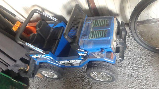 Jeep na akumulator dla dziecka