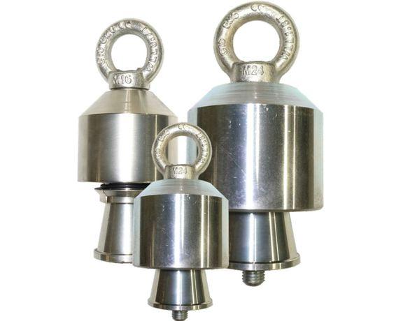 Chwytak głowica dzwonek ciągadło uchwyt do wciągania rur 125 mm PE
