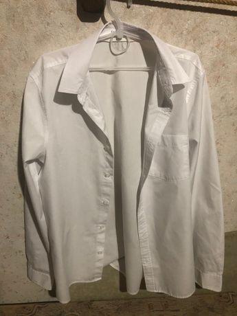 Рубашка белая H&M р.164