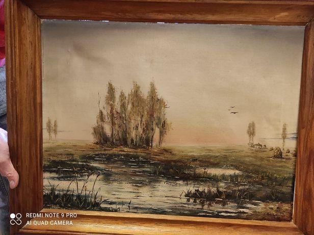Obraz olejny Krzysztof Sobieski 1988 r.