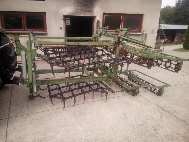 Agregat uprawnowy brony ciężkie z walcami hydraulicznie składane