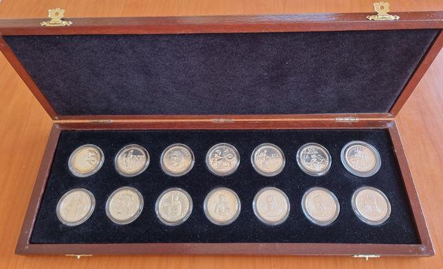 O ECU Europeu em Prata 1986 a 1999 (medalhas / moedas)