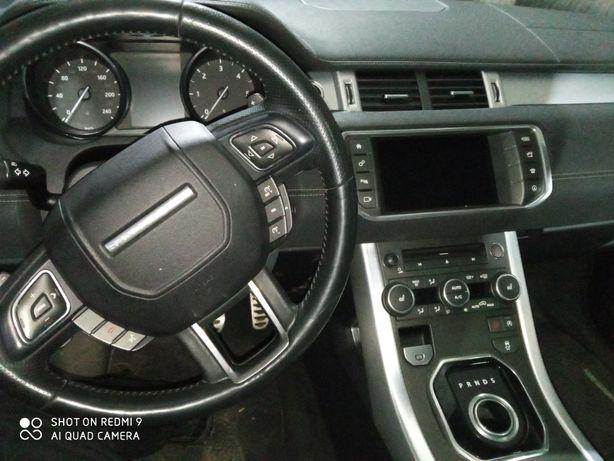 Панель приборов, торпедо, безопасность, Range Rover Evoque 2016 2.0