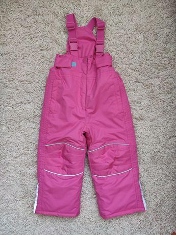 Зимний полукомбинезон - штаны на девочку