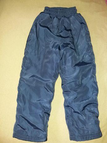 Штаны брюки на синтапоне и флисе   110 - 116 см