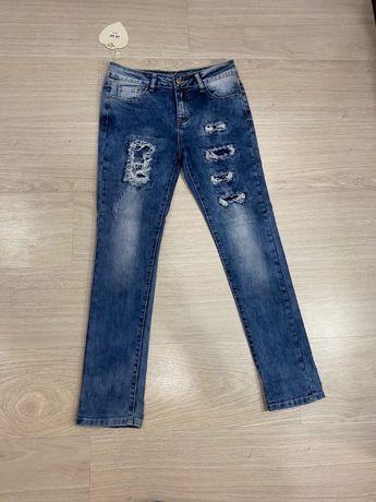 Продам джинсы 27 размер на девочку подростка, Турция