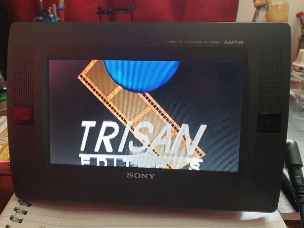 Leitor dvd portatil sony