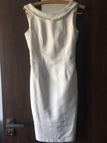 Olowkowa elegancka sukienka mohito xs