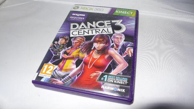 Gra do XBox 360 Dance Central 3 nauka tańca tańczenie do Kinect XBox