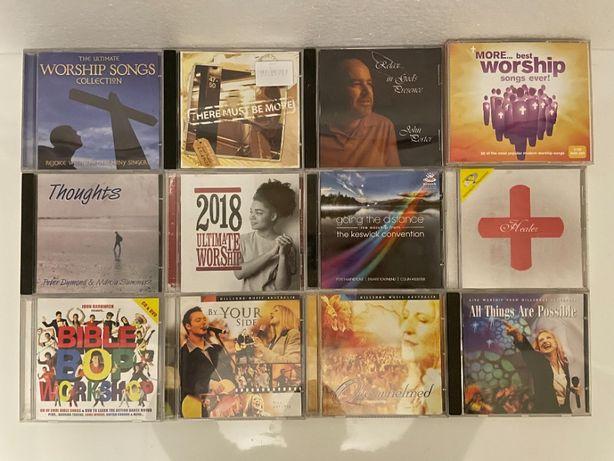 12 CD de musica religiosa (Worship)