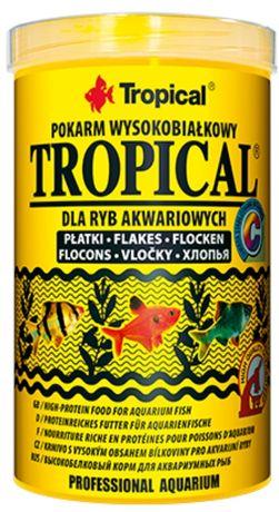 Tropical wysokobiałkowy 250 ml - pokarm dla ryb akwariowych