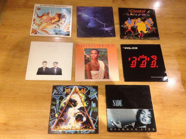 Płyty winylowe po 40 zł The Police Pet Shop Boys Queen Sade Whitney