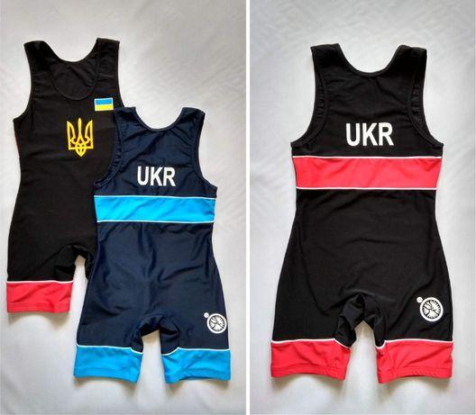 Борцовское трико борцовское UWW. Детское трико для борьбы
