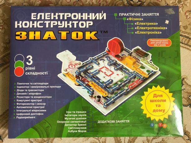Електронний конструктор ЗНАТОК