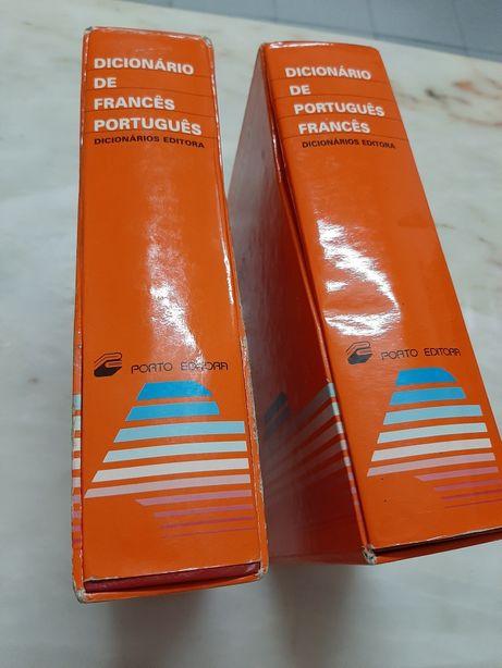 2 Dicionários-Francês-Português, Português-Francês