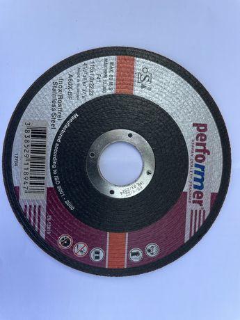 Discos corte ferro/inox Ø115mm (novos)