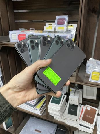 Apple iPhone 11 Pro Max 256 gb Space Gray/ Midnight Green ИДЕАЛ!