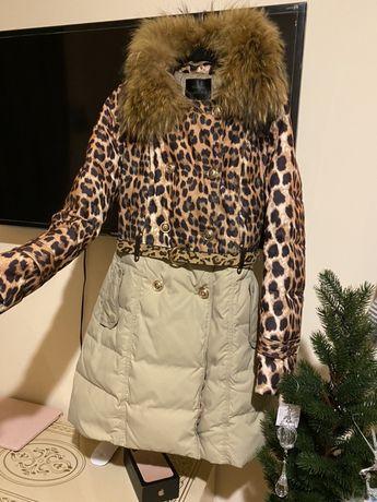 Куртка пуховик пальто парка M/l