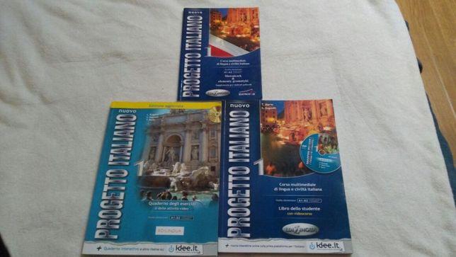 Książki do języka włoskiego
