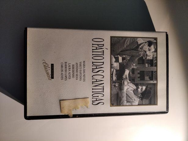 VHS O Pátio das Cantigas