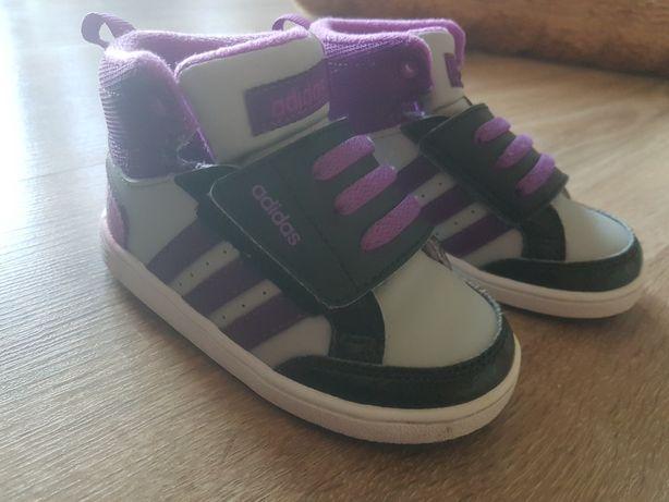 Adidas Buty dla dziewczynki  21  Jak nowe