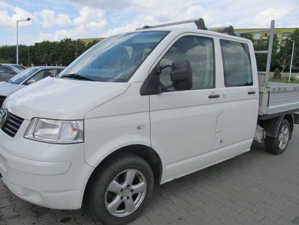 Sprzedam Volkswagen Transporter T5 Dubel kabina 6 osób