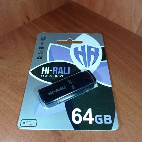 Накопичувач USB 64GB Hi-Rali / Флешка 64 гб