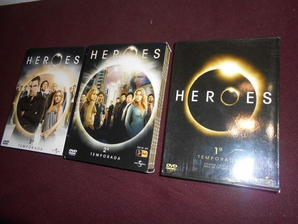 HEROES - 1ª 2ª 3ª temporadas - 10 euros cada temporada