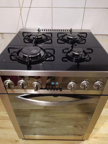 Kuchnia 60 cm gazowo-elektryczna Amica SCHOTT