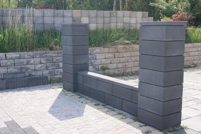 Ogrodzenie betonowe gładkie OSTATNIE dni PROMOCJI