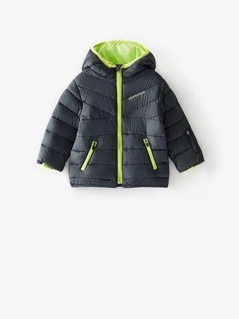 Куртка ZARA р 2-3 года рост 98 см мальчику куртка зара черная