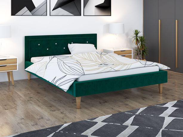Łóżko z materacem Beta 160x200 na nóżkach