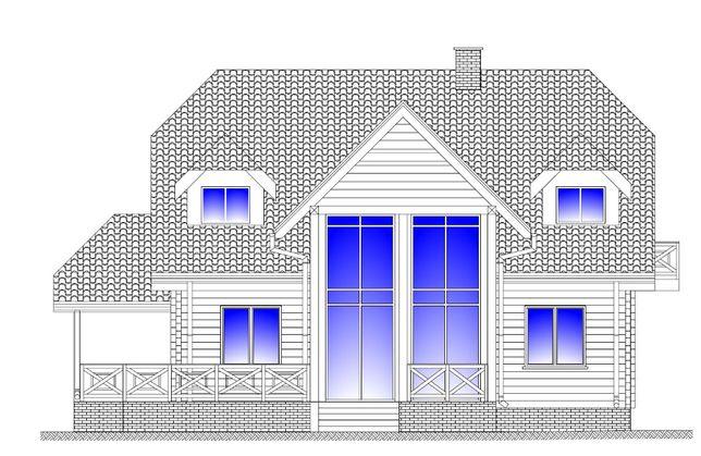 Wykonam projekt budowlany dom szkieletowy/dom z bala