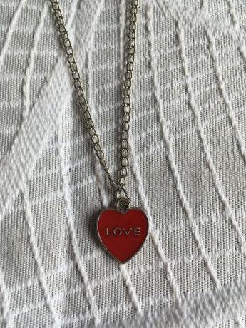 Colar Coração Love
