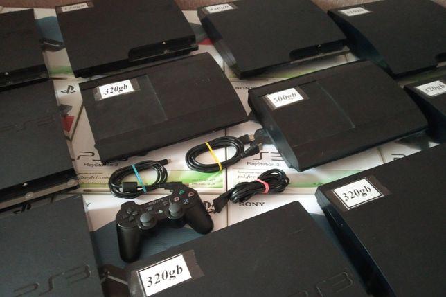 Sony PS3 Super Slim 320gb (прошита+Ігри) Hen 4.87 Із Європи Без Предоп