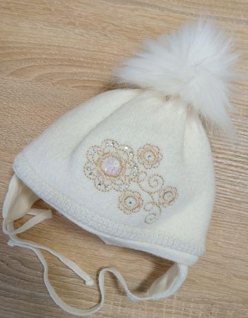 Зимняя шапочка р 38-40