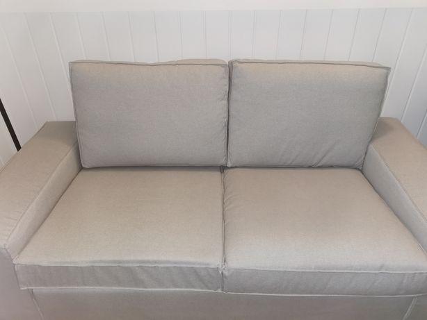 Sofa kivik ikea 2 lugares cinza