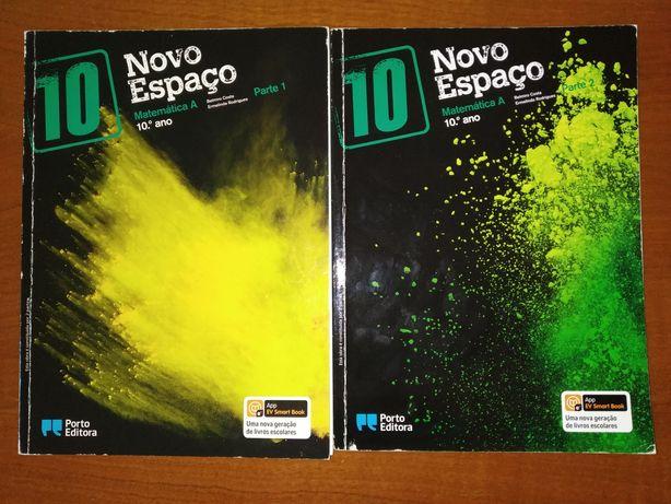Manuais Novo Espaço 10°ano - Porto Editora