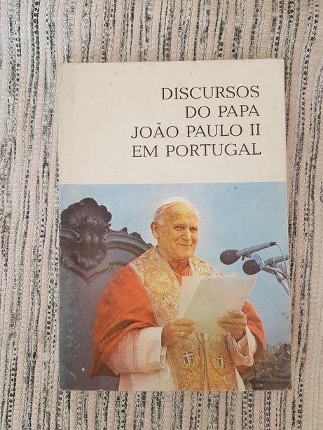 """Livro """"Discursos do papa João Paulo II em Portugal"""""""